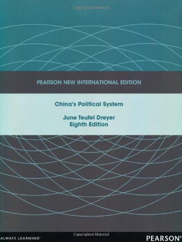 China's Political System pdf epub