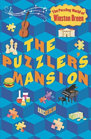book cover of The Puzzler\'s Mansion
