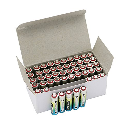 50x 27A Alkaline 12V Primary Dry Batteries A27 27AE 27MN Alarm Car Remote Battery