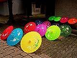 Paper Parasol Umbrella /Folk Dancing Umbrella / Chinese Traditional Handmade Umbrellas Wodden