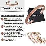 Copper Bracelet for Women Arthritis Pain Relief