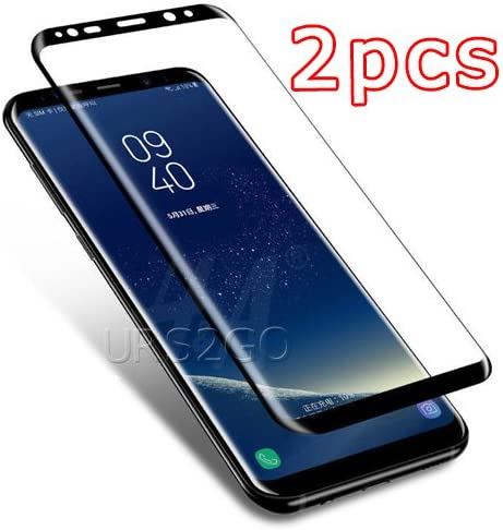 3D Curved Tempered Glass Screen Protector for Samsung Galaxy S8 SM-G950U Transparent Full Coverage Hi-Definition Samsung Galaxy S8 Screen Protector