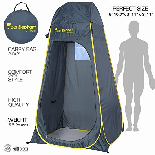 Green Elephant Utilitent Privacy Pop Up Tent ...  sc 1 st  Best C& Kitchen u2013 Your c&ing supplies store & Green Elephant Utilitent Privacy Pop Up Tent u2013 Portable Camping ...