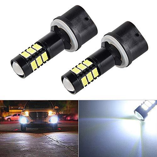 - Felix-Box - Super White 54-SMD Fog Light LED Bulbs For Dodge Ram 1500 2500 3500 1994-1997 GMC Yukon XL 1500 2500 2001-2006 Envoy Sierra