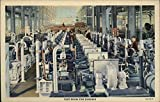 The Caterpillar Factory, Test Room for Engines Peoria, Illinois Original Vintage Postcard