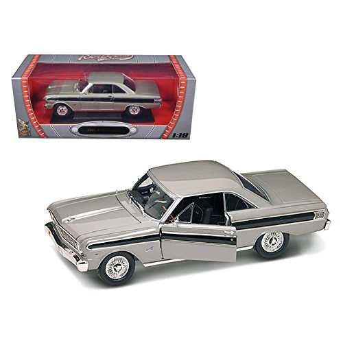 Road Signature 92708bk 1964 Ford Falcon Diecast Car Model 1-18 Black Die Cast Car