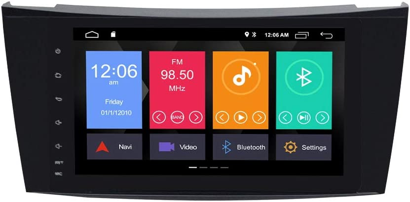 Zltoopai Für Mercedes Benz E Klasse W211 Cls W219 Android 10 0 Autoradio 8 Zoll Auto Stereo Gps Navigation Auto Gps Unterstützung Bildschirm Spiegel Wifi Obd2 Swc Rückfahrkamera Navigation