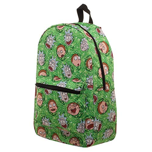 Portal Print Rick And Morty Backpack Standard