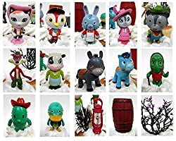 "Sheriff Callie's Wild West 17 Piece Birthday Cupcake Topper Set Featuring Sheriff Callie & Townsfolk - Wild West Themed Decorative Accessories - Figures Average 1.5"" To 2"" Tall"