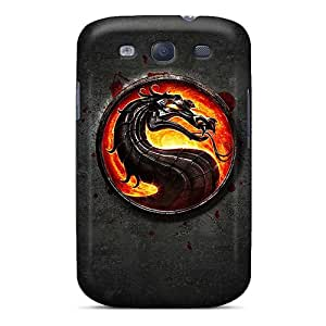 Premium Durable Mortal Kombat Fashion Tpu Galaxy S3 Protective Case Cover
