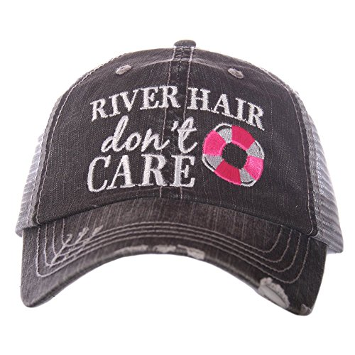 - Katydid River Hair Don't Care Women's Trucker Hat Cap
