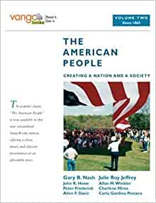 Amazon.com: The American People: Creating a Nation and a