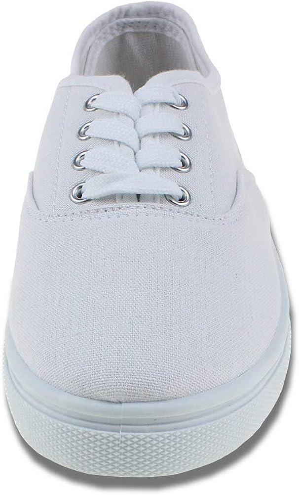 Kids White Church Uniform Slip on Shoes Casual Walking Sneaker Little Kid//Big Kid