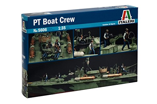 1:35 Pt Boat Crew Model Kit (Elco Boat Pt)