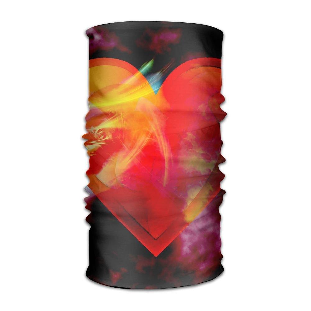 Magic Headwear Love Heart Outdoor Scarf Headbands Bandana Mask Neck Gaiter Head Wrap Mask Sweatband