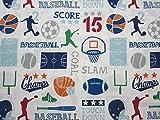 Sports Scoreboard Shuffle (FLAT SHEET ONLY) Size