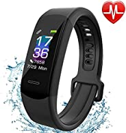 Fitness Tracker AISIRER IP 67 Waterproof Smart Bracelet with Heart Rate Monitor Activity Health Tracker Fitnes