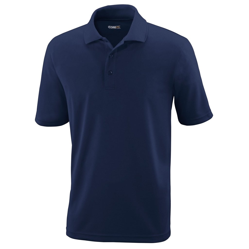 Ash City Mens Origin Polo Performance Shirt (Medium, Classic Navy) by Ash City Apparel