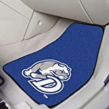 Front Floor Mats w Official Drake Bulldogs Logo - Set Of Two