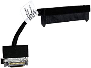 Hopero SATA HDD Hard Drive Connector Cable Replacement for Dell Inspiron 15 7000 7557 5577 7559 5576 0HW01M HW01M DDAM9AHD000