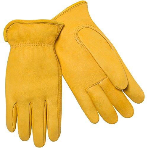 Unlined Grain Deerskin Glove - 7
