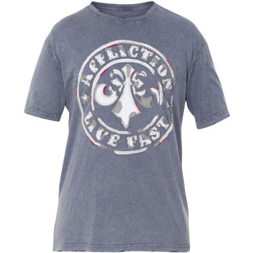 Affliction - T-Shirt Divio Timeworn Graphic Tee Uomo