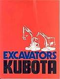1982 Kubota KH10D KH18L Excavator Brochure