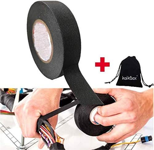 Amazon.com: WuTing 15M Wire Harness Tape - Wiring Harness Cloth Tape - Black  Self Adhesive Fabric Tape for Electrical Wire harnessing Noise Damping Heat  Proof Great Favors Pack of 1: Furniture & DecorAmazon.com