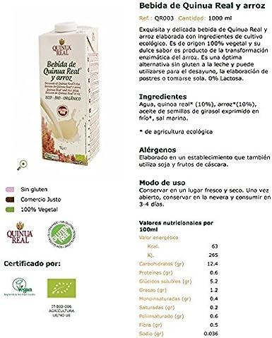 Quinua Real Bebidas de Arroz - 6 Botellas