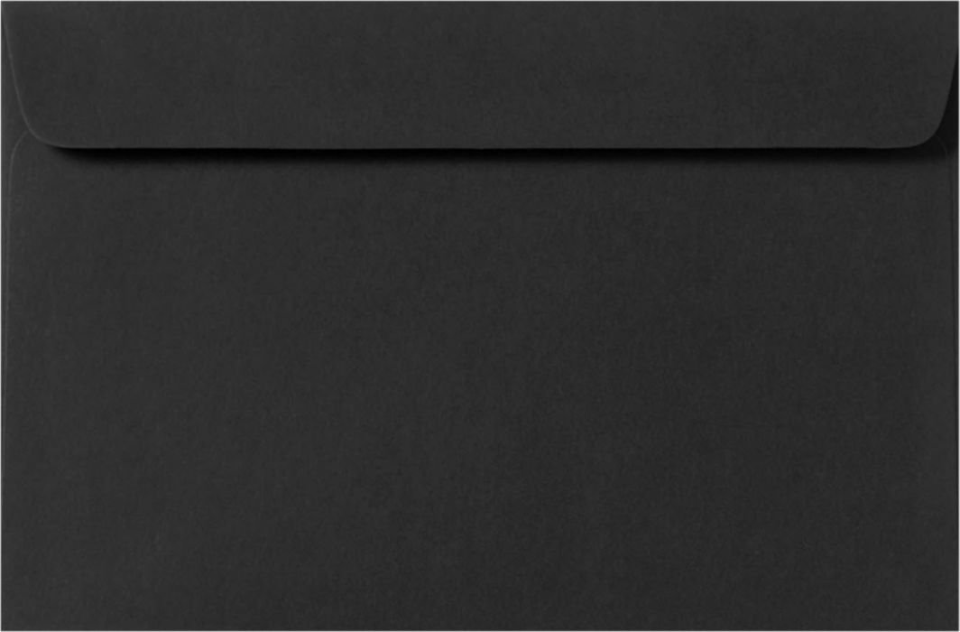 9 x 12 Booklet Envelopes - Midnight Black (50 Qty.) Envelopes.com F-6075-B-50