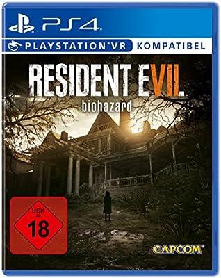 Capcom RESIDENT EVIL 7 biohazard Básico PlayStation 4 Alemán vídeo - Juego (PlayStation 4, Acción / Aventura, Se requieren auriculares de realidad virtual (VR ...