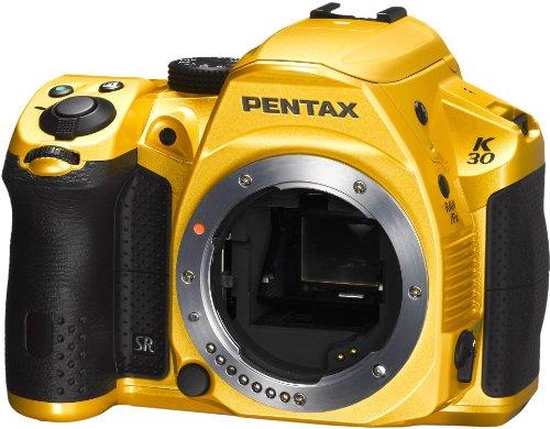 Pentax K-30 16 MP CMOS Digital SLR Crystal Yellow [Camera]