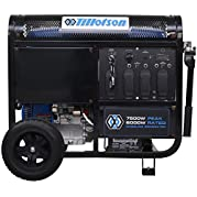 Generator Tillotson 7500w with Electric Remote Control