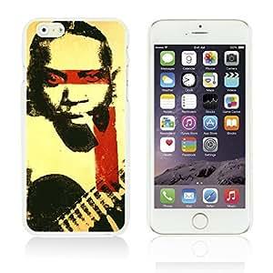 LJF phone case OnlineBestDigitalTM - Celebrity Star Hard Back Case for Apple iPhone 6 Plus (5.5 inch) Smartphone - Robert Johnson Pop Art