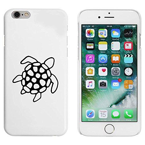 Blanc 'Tortue de Mer' étui / housse pour iPhone 6 & 6s (MC00089509)