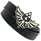 The Legend of Zelda Triforce Logo Reversible Belt & Buckle Set