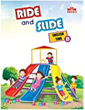 Gikso Ride and Slide English Time Book – B for LKG Kids Age 3-5 Years Old
