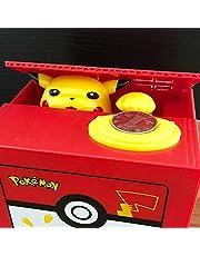 Yzhongx Spaarvarken creatieve, elektronische kunststof spaarpot stallen munt bank Pikachu geld veilig voor kinderen geschenk bureau speelgoed