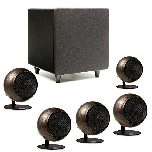 Orb Audio Mini 5.1 Home Theater Speaker System (Hammered Earth) by Orb Audio LLC