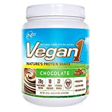 Nutrition53 Vegan1 Shake, Chocolate, 1.6 Pound