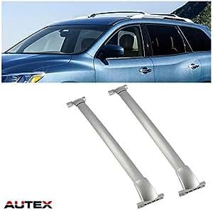 Amazon Com Autex Bolt On Aluminum Roof Rack Cross Bars