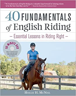 Book 40 Fundamentals of English Riding (Book and DVD)