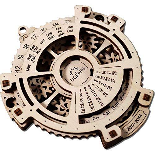 UGears date Navigator Wooden Mechanical Model -