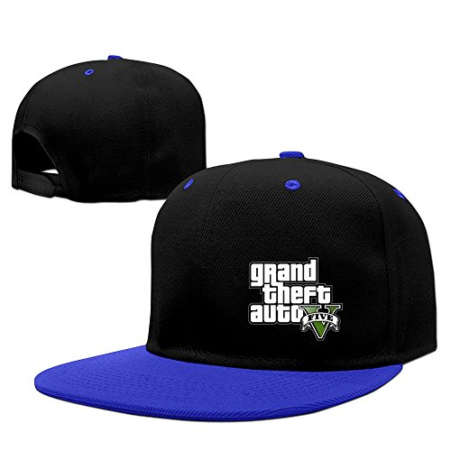 Price comparison product image Cool GTA V Grand Theft Auto Five Logo Baseball Hat RoyalBlue