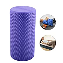Relefree® 30x14.5cm EVA Yoga Gym Pilates Exercise Fitness Foam Roller Massage Trigger Point Multicolor Colorful Lose Weight Health Durable Useful Free shipping