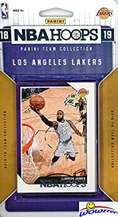 Los Angeles Lakers 2018 2019 Panini Hoops NBA Basketball EXCLUSIVE Factory  Sealed Limited Edition 11 ef908a097