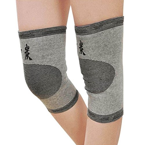 uxcellr-pair-elastic-bamboo-charcoal-slimming-knee-brace-support-pad-kneecap-protector