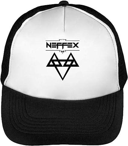 Neffex Logo Gorras Hombre Snapback Beisbol Negro Blanco: Amazon.es ...