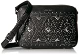 Calvin Klein Avery Pebble All-Over Pyramid Stud Embellished Camera Bag Crossbody