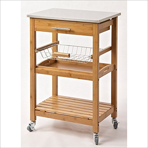 top 5 best kitchen island cart stainless steel,sale 2017,Top 5 Best kitchen island cart stainless steel for sale 2017,